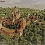 Festung Hohenahlhorn - Postkarten Stil