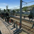 Abschiedsfahrt der Bissersheimer Bahn