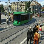 Die Stadtmitte aus Fußgängerperspektive