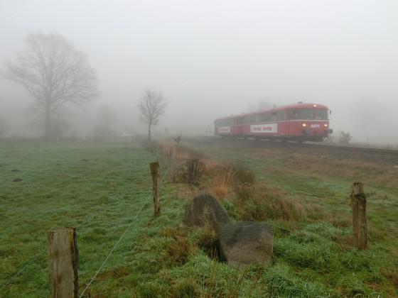 Der letzte Tag der AKN Schienenbusse