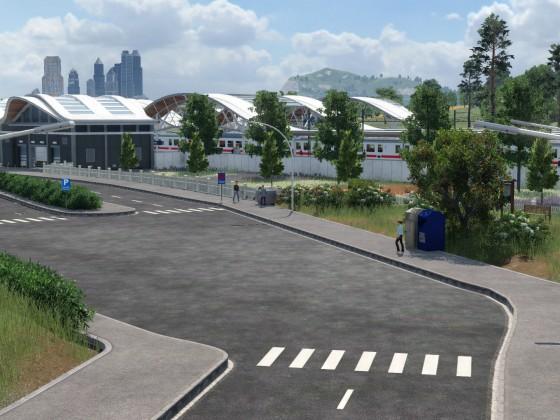 Neuer Bahnhofsvorplatz