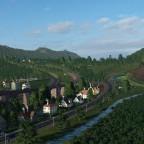 Obersietzfeld von Oben
