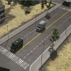 USA Erweiterung 4 Spurig Stadard Straße mit Platten weg