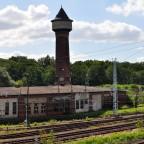 Bahnanlage Elstal - alter Ringlokschuppen