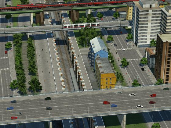 Städtische Brücken II