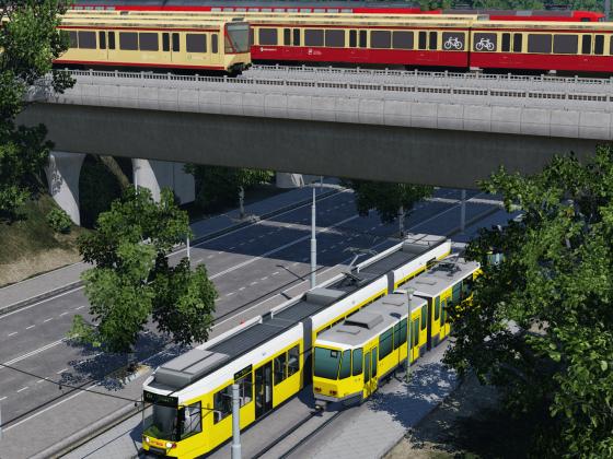 Die Brücke in Schöneweide Berlin