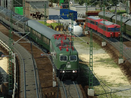 Güterumschlag und Durchgangsverkehr