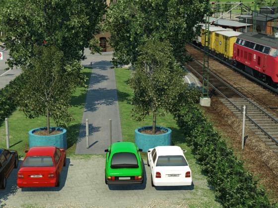 Kleiner Regionalbahnhof