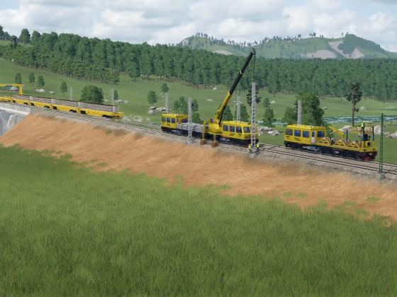 Brücken und Gleisfeldbau 1