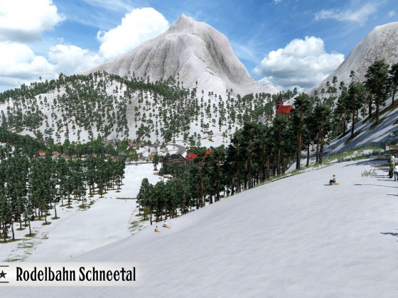 Rodelbahn Schneetal