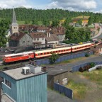 Regionalzug für die Bergstrecke
