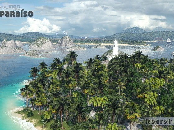 "Felseninseln vor ""La Vega"""