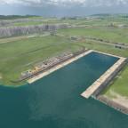 Baustart des Binnenhafens