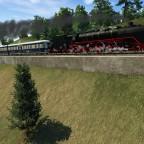 Fernschnellzug mit Br 03 und Henschel-Wegmann-Zug