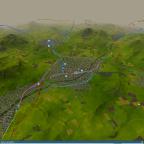 """Das """"Ruhr-Gebiet"""" der Map"""