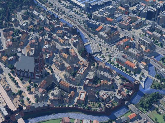 Altstadt von oben