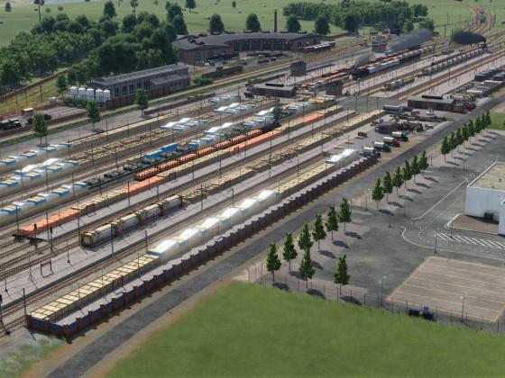 Güterbahnhof - Versuch drei