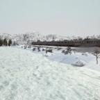 CN Railiner on the frozen river