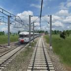 Eine alte Eurocity TEE Komposition verkehrt zwischen Balsthal und Outrémont