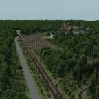 Überblick über den hinteren Teil des Gebietes