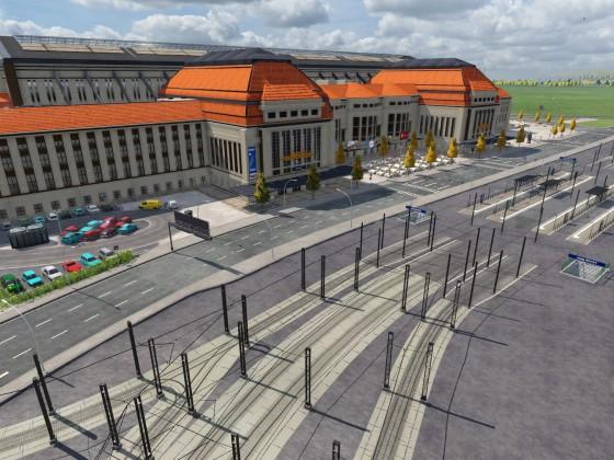 Leipzig Project Schönbau - Hauptbahnhof