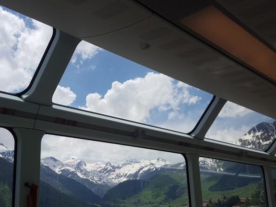 Meine Fahrt mit dem Glacier-Express
