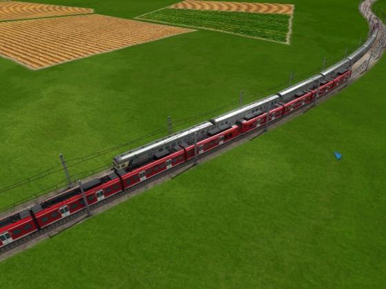 S-Bahn vs RB