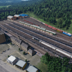 Depot and station in late USSR