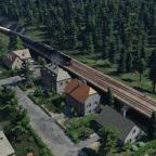 Einfahrt Bahnhof Binsdorf