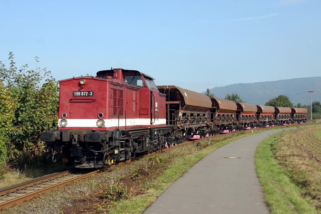 Bock auf Rollbock? HSB-Güterzug am 02.10.14
