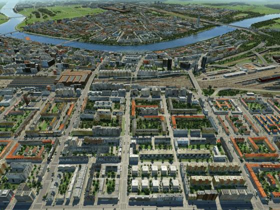 Schönbau-Map Grossraum Basel