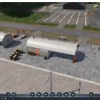 Wellblechhütte als Cargo und Personenmodul