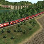 Mit dem Railjet durch die Berge