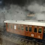 kkStB-Reihe 30 mit Wiener Stadtbahnwagen CDu/Cu/Bu