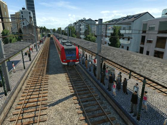 Moderne Triebzüge