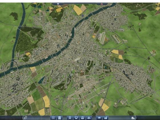 Hauptstadt - Luftaufnahme