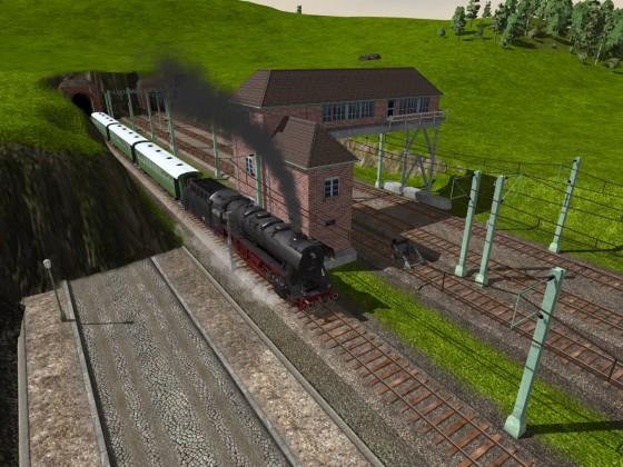 44er Ausfahrt am Tunnel I