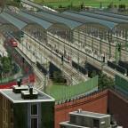 Hauptbahnhof Westansicht