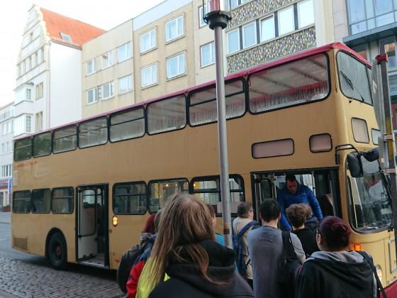 """Historisches """"Taxi"""" zum Straßenbahnmuseum"""