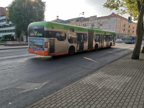 Stadtbus Klaipeda Litauen