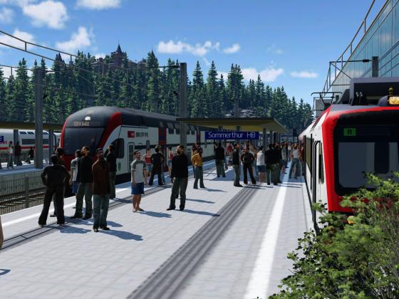 [TpF 1] alltäglicher Verkehr am Sommerthurer HB