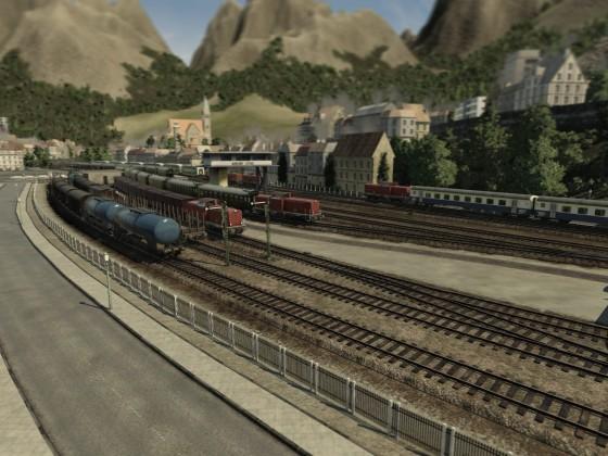 Bahnhofssicht
