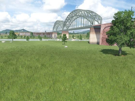 Eine neue Brücke...