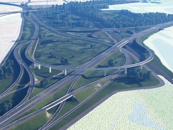 Autobahn-Dreieck