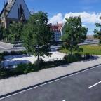 Thomas-Kirche und Umgebung
