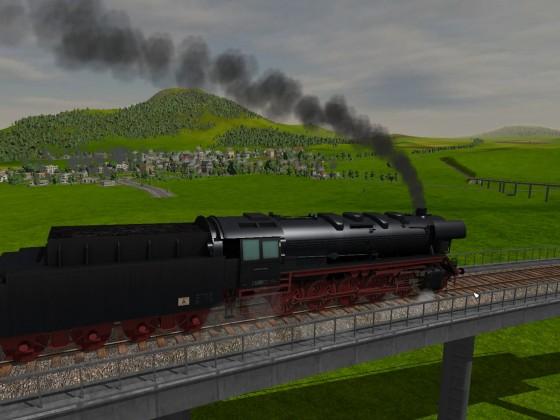 Die Museumsbahn-Blick auf Keltern
