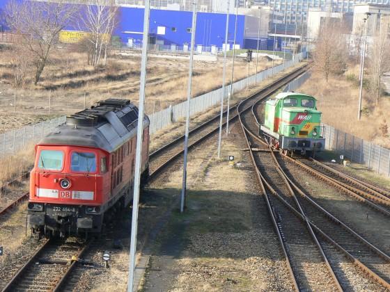 Baureihe 232 und V60 in Warschaue Straße