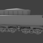 Versuchswannentender 2'2'T34 WIP