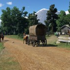 Countryroad in 1850s USA #1