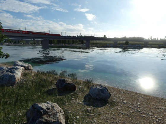 Über den Fluss
